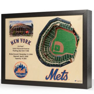 New York Mets StadiumViews 3D Wall Art