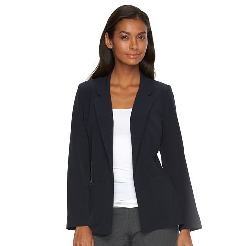 Women's Briggs Solid Open-Front Jacket