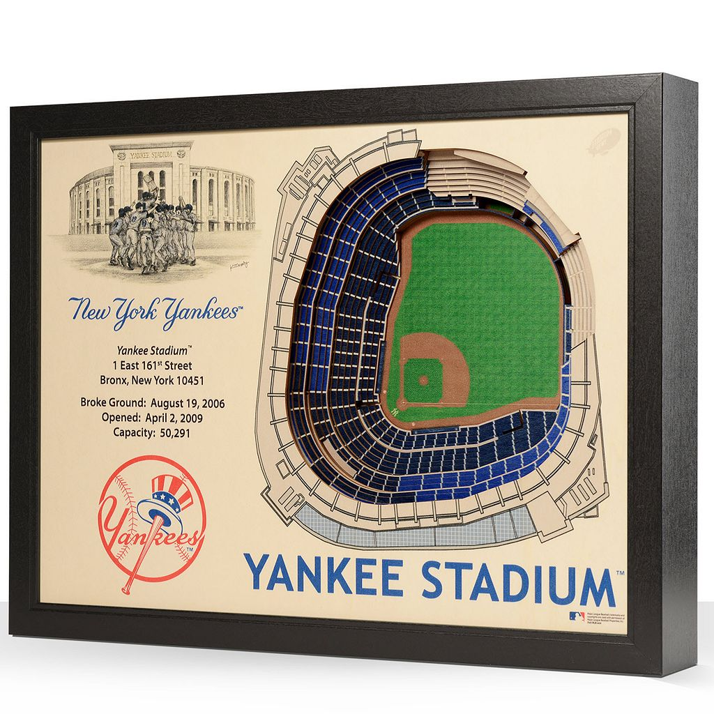 New York Yankees StadiumViews 3D Wall Art