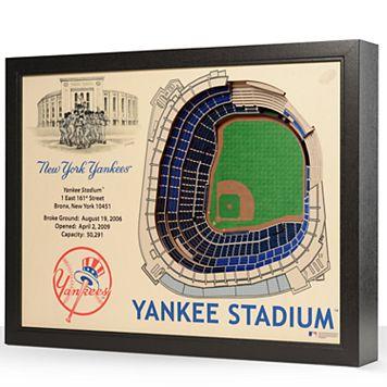 New York Yankees StadiumViews 3D Wall Art