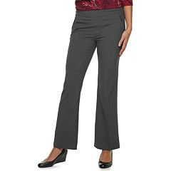 Women's Briggs Straight-Leg Pull-On Dress Pants