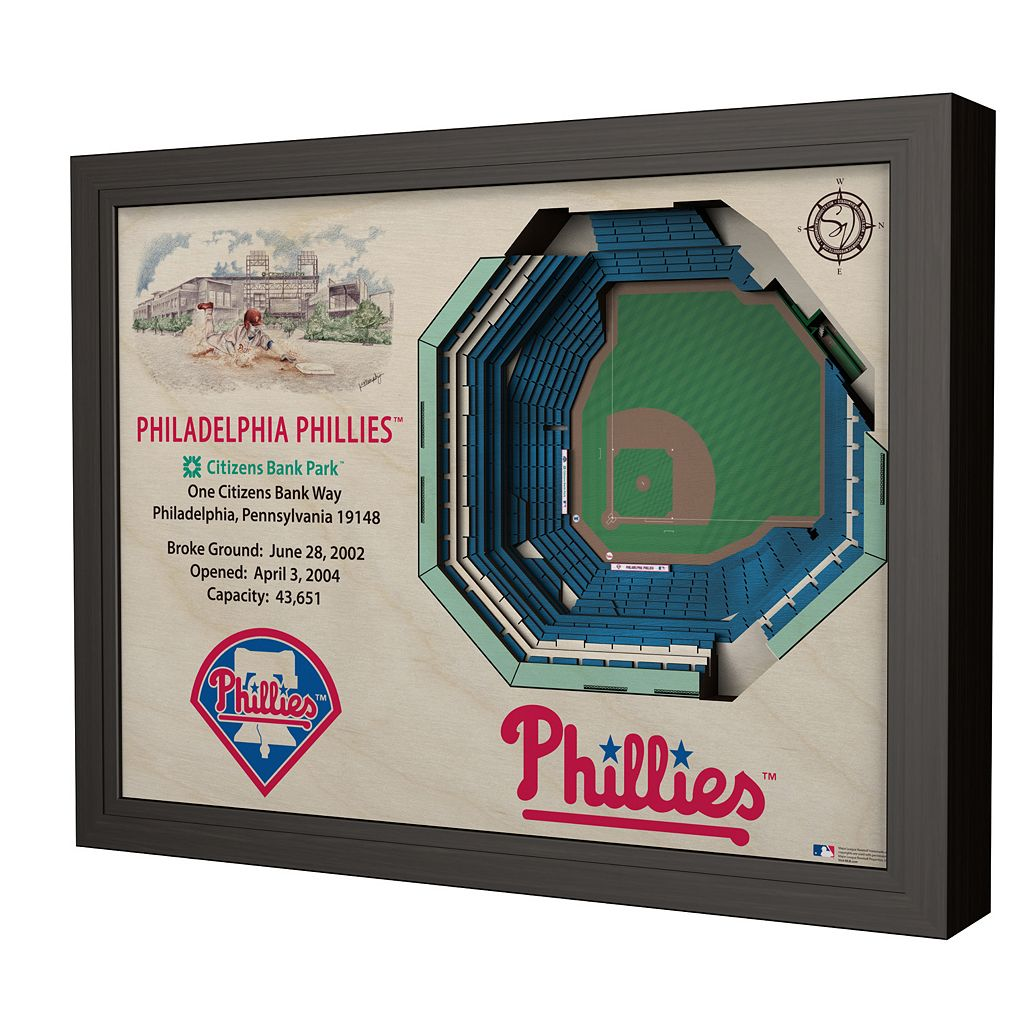 Philadelphia Phillies StadiumViews 3D Wall Art