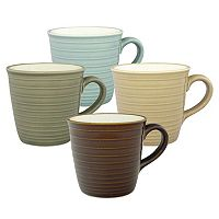 Sango Soho 4-pc. Coffee Mug Set