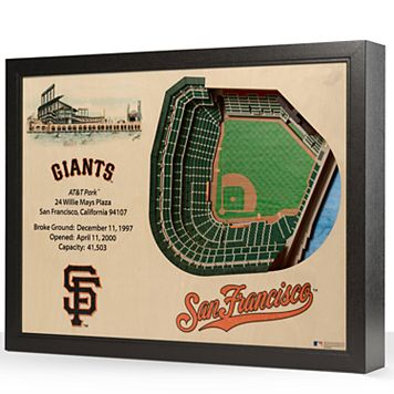 San Francisco Giants StadiumViews 3D Wall Art