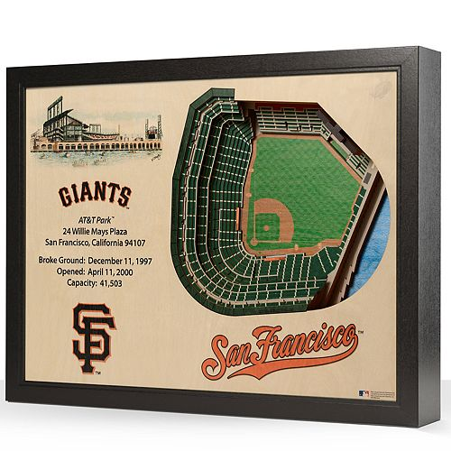 San Francisco Giants StadiumViews 3D Wall Art