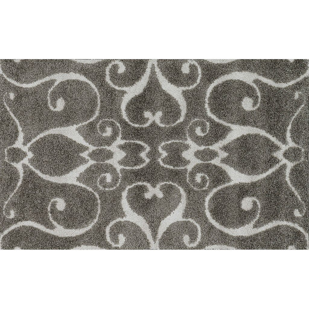Loloi Enchant Scroll Shag Rug