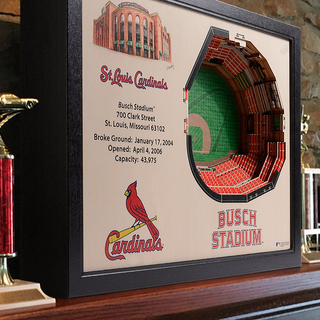St. Louis Cardinals StadiumViews 3D Wall Art