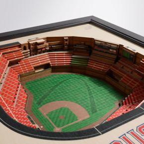 St. Louis Cardinals StadiumViews 3D Wall Art