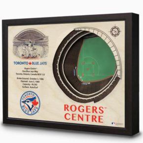 Toronto Blue Jays StadiumViews 3D Wall Art