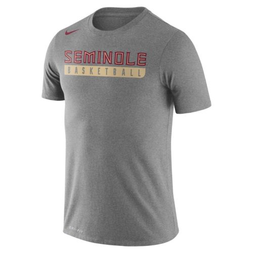 Men's Nike Florida State Seminoles Basketball Practice Dri-FIT Tee