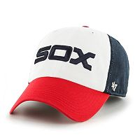 Adult '47 Brand Chicago White Sox Alternate Clean Up Cap