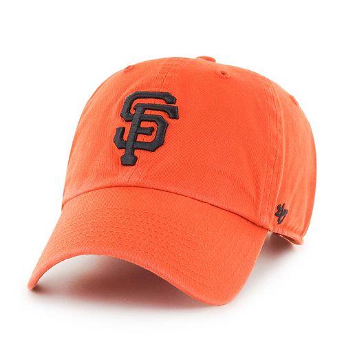 Adult '47 Brand San Francisco Giants Alternate Clean Up Cap