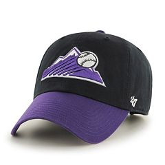Adult '47 Brand Colorado Rockies Alternate Clean Up Cap