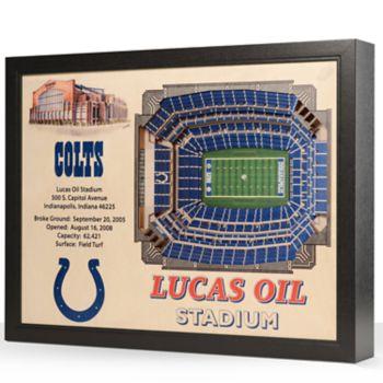 Indianapolis Colts StadiumViews 3D Wall Art