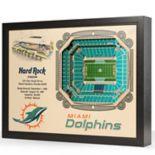 Miami Dolphins StadiumViews 3D Wall Art