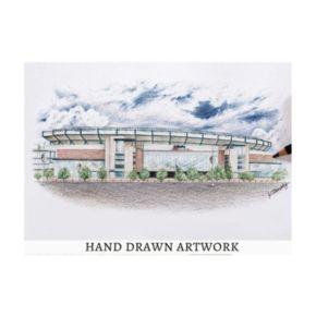 New EnglandPatriots StadiumViews 3D Wall Art