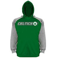 Big & Tall Majestic Boston Celtics Fleece Hoodie