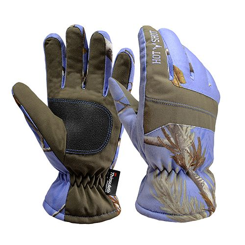 Boys Hot Shot Realtree Camouflage Defender Gloves