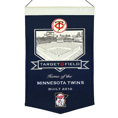 Minnesota Twins Target Field Stadium Banner
