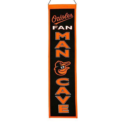 Baltimore Orioles Man Cave Banner