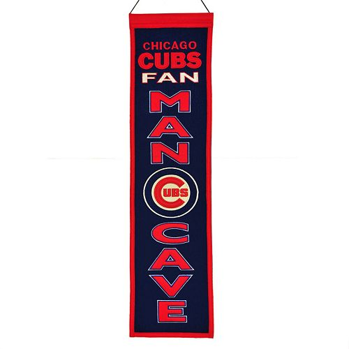 Chicago Cubs Man Cave Banner