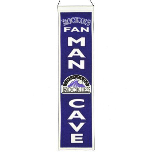 Colorado Rockies Man Cave Banner