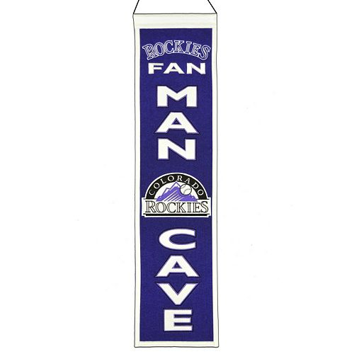 Colorado Rockies Man Cave Banner