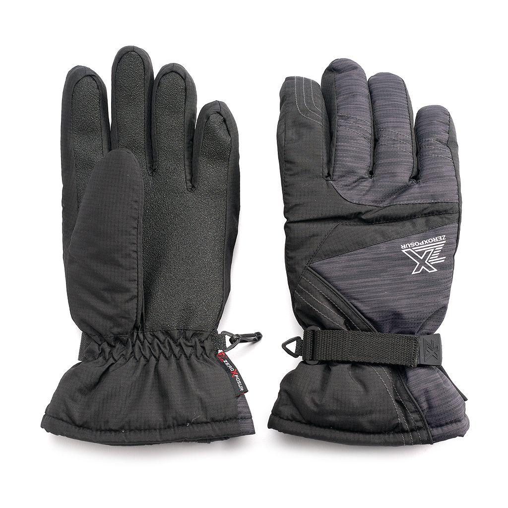 Men's ZeroXposur Travis Dobby Ski Gloves
