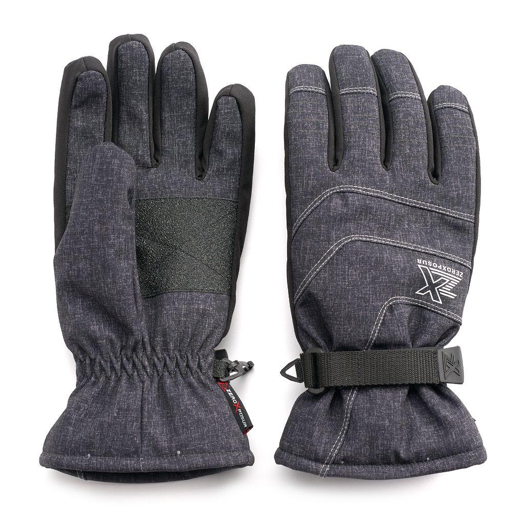 Men's ZeroXposur Clark 4-Way Stretch Ski Gloves