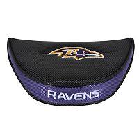 McArthur Baltimore Ravens Mallet Putter Cover