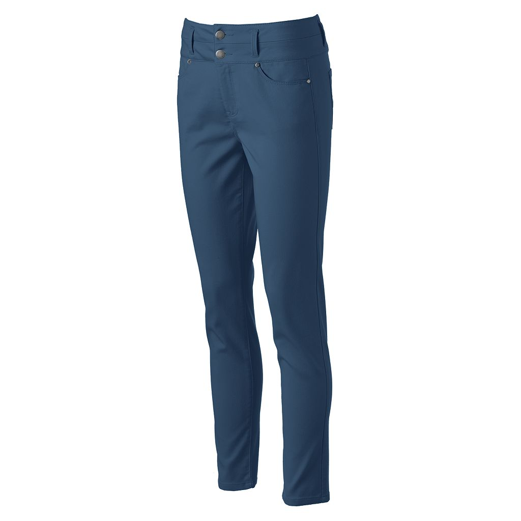 Juniors' Tinseltown Color Double Stack Jeggings
