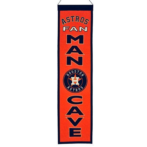 Houston Astros Man Cave Banner
