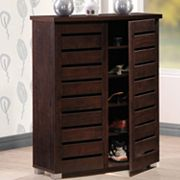Baxton Studio Adalwin Wood Shoe Storage Entryway Cabinet