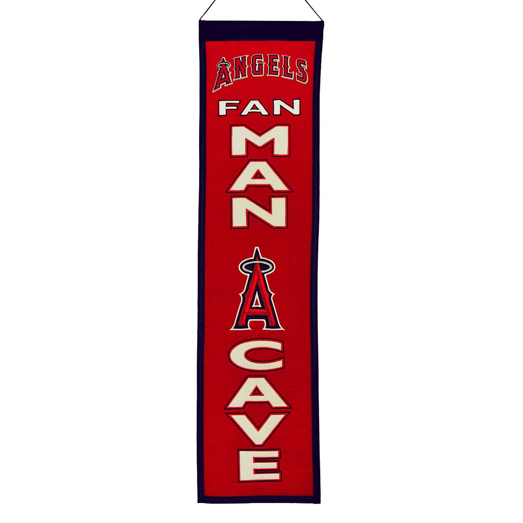 Los Angeles Angels of Anaheim Man Cave Banner