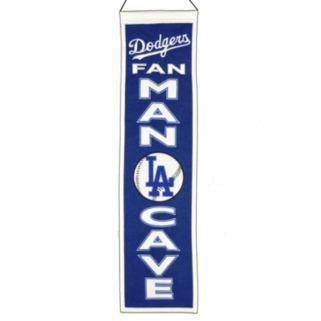 Los Angeles Dodgers Man Cave Banner