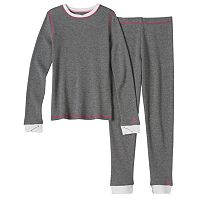 Girls 4-16 Cuddl Duds Thermal Long-Sleeved Tee & Leggings Set
