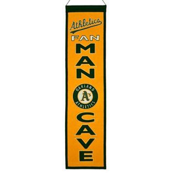 Oakland Athletics Man Cave Banner