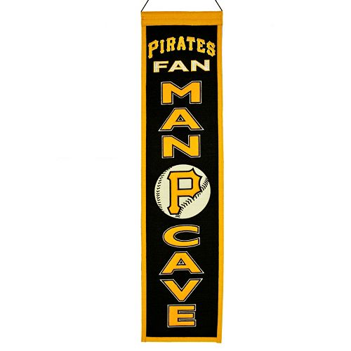 Pittsburgh Pirates Man Cave Banner