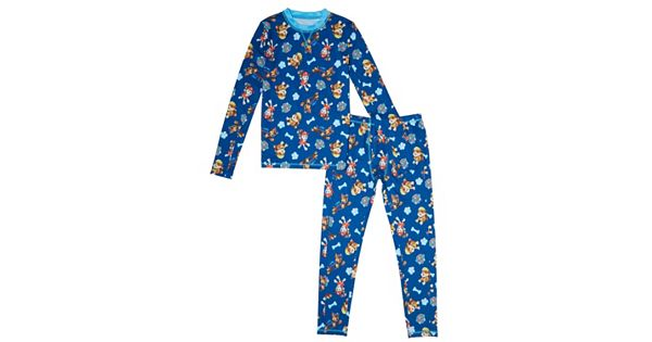 Boys 4 10 Climatesmart 2 Piece Paw Patrol Base Layer Set