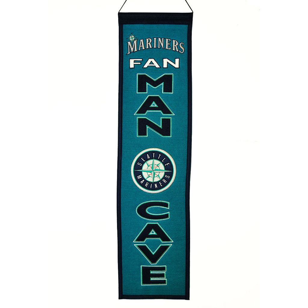 Seattle Mariners Man Cave Banner