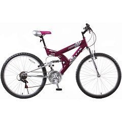 Adult Punisher 21-Speed Dual Suspension All-Terrain Mountain Bike