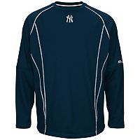 Big & Tall Majestic New York Yankees Texture Fleece Pullover
