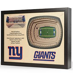 New York Giants StadiumViews 3D Wall Art