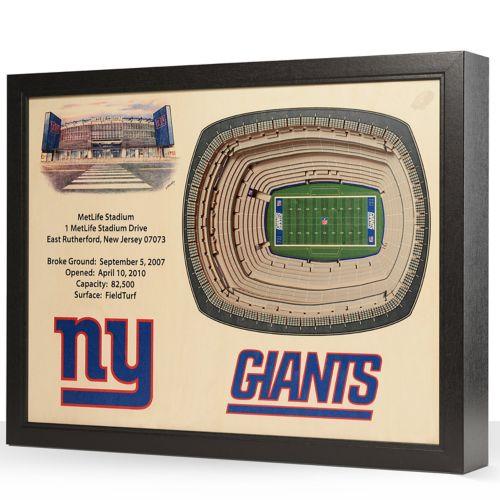 New York Giants StadiumViews 3D Wall Art