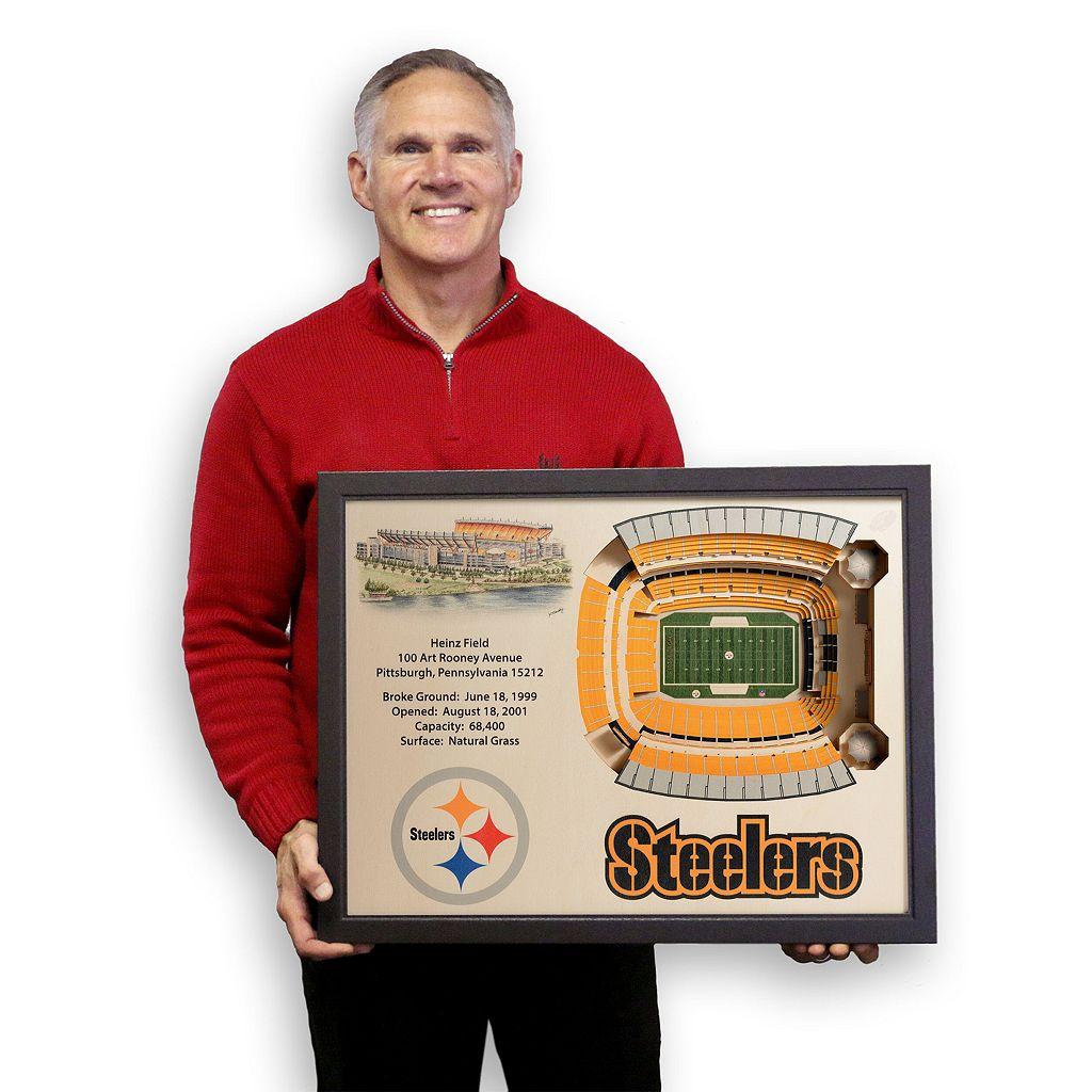 Pittsburgh Steelers StadiumViews 3D Wall Art