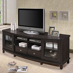 Baxton Studio Walda 70 in TV Cabinet