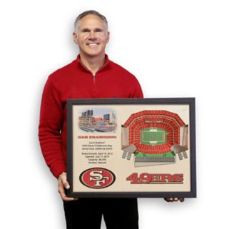 San Francisco 49ers StadiumViews 3D Wall Art