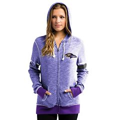Women's Majestic Baltimore Ravens Athletic Tradition Hoodie