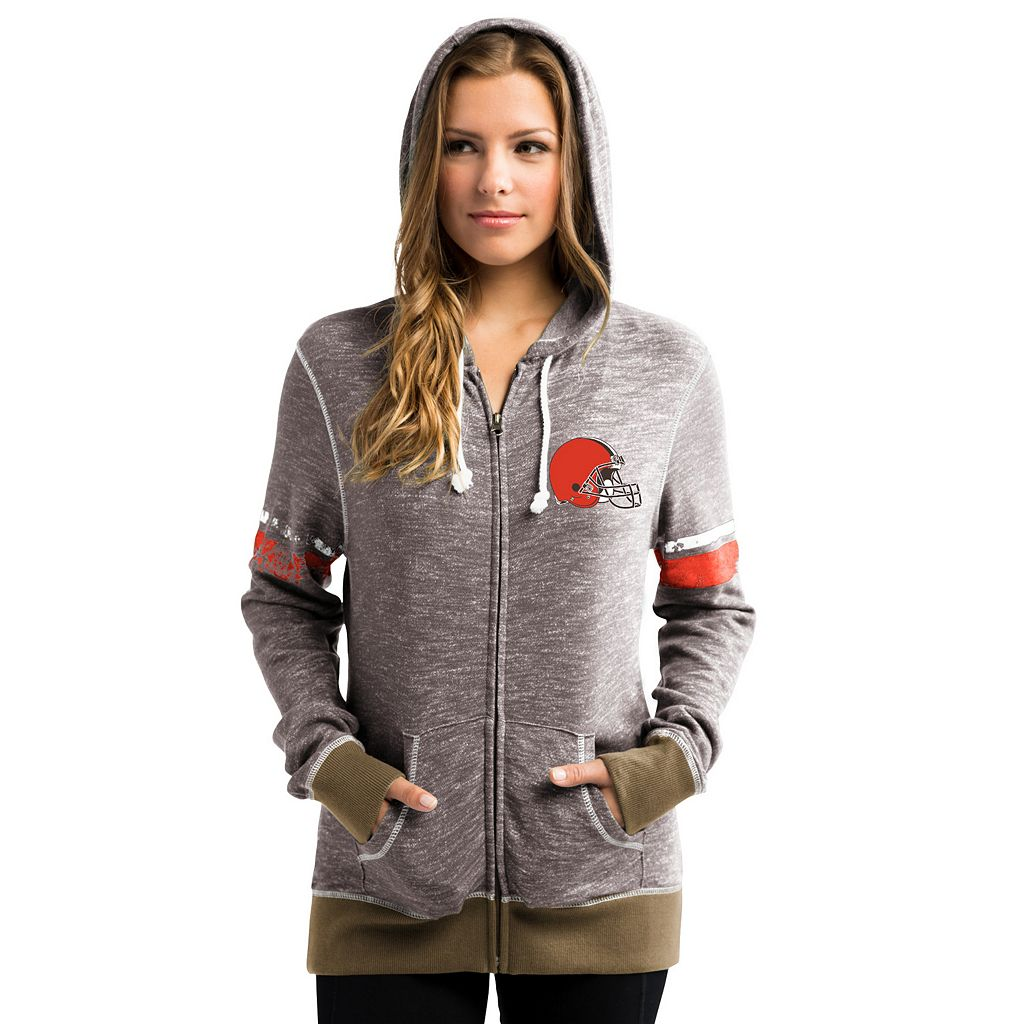 Women's Majestic Cleveland Browns Athletic Tradition Hoodie