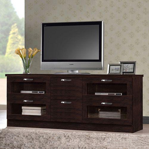 Baxton Studio Adelino 63-in. TV Cabinet
